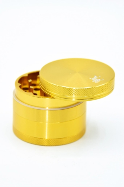 Black leaf alugrinder gold