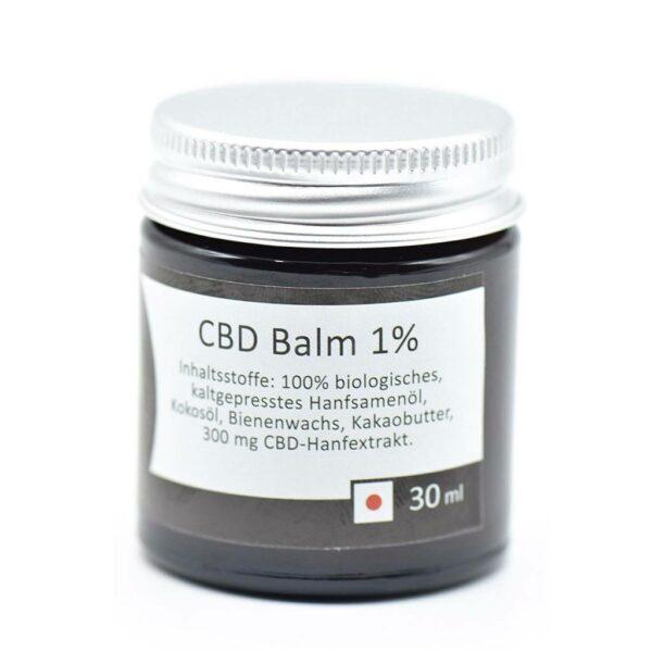 cbd balm 1%