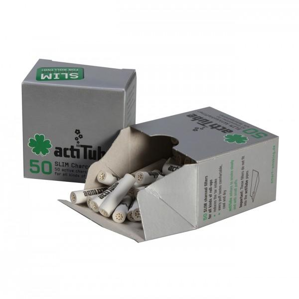 actitube aktivkohlefilter slim