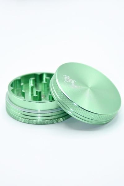 Alu Grinder 2 Teilig grün