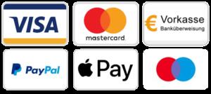 CBD kaufen mit Paypal, visa, mastercard, maestro oder apple pay