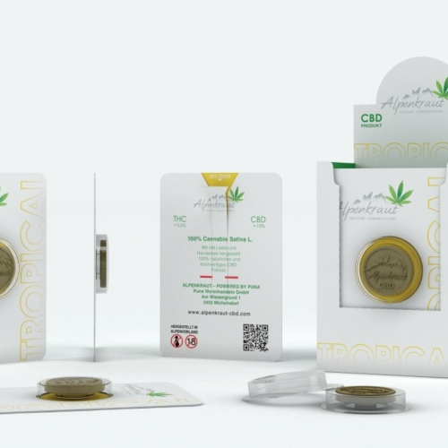 Tropical CBD Pollinat 15% by Alpenkraut- Made in Austria